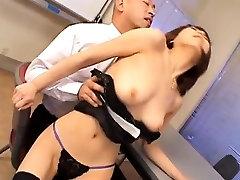 Jun Kusanagi Asian milf gets pussy licked and anus fingered