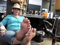 Lin from 1fuckdatecom - Mature tasty feet