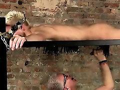 Young boy bondage tube gay Draining A Slave Boys Cock