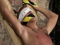 Nude gay twinks peeing outside first time Blindfolded, gagge