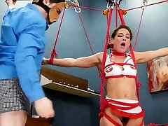 BDSM hardcore action with ropes and unbelievable sex
