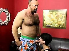 Gay twink domination While riding that cock, Benjamin blows