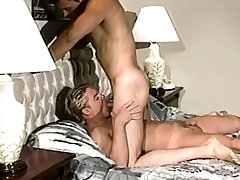 Blonde twink gets fuck in his tight anal