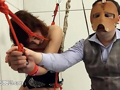 To much of rope and extreme BDSM submissive makinglove