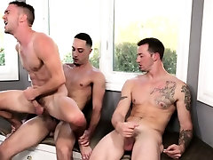 Muscly stud gets facial