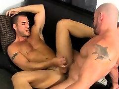 Sexy deep throat gay men kissing Horny Office Butt Banging