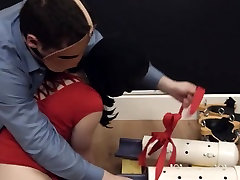gracefully hardcore BDSM rope sex with anal action