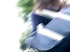 School Girls Upskirt Low Angle Chasing Walk