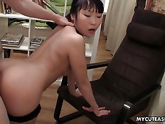 Fucking her from the back as she cums multiple times