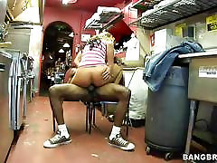 Nikki Sexx filled up by a massive black dick