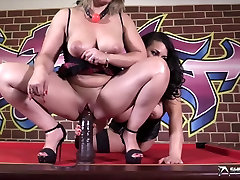 Fantastic lesbian sex with two beautiful girls