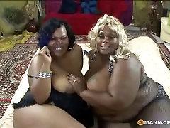 Huge black & white girlfriends