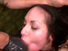 FetishNetwork Isa Mendez bdsm facial with rough sex