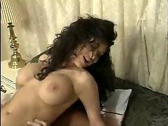 Busty brunette 90s retro porn BB