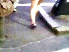 High Heels Wedges Asian Teen