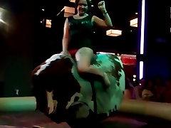 big ass riding the bull in Vegas 2015