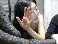 Cute Asian Girl BJ & Doggy
