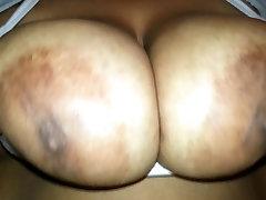 Bbw redbone playing with big titts