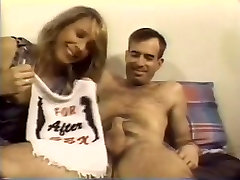 Amateur MILF Sweet Pie Shaves, Sucks, and Fucks Cock