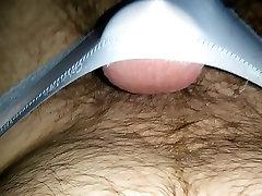 Short video of my penis in panties